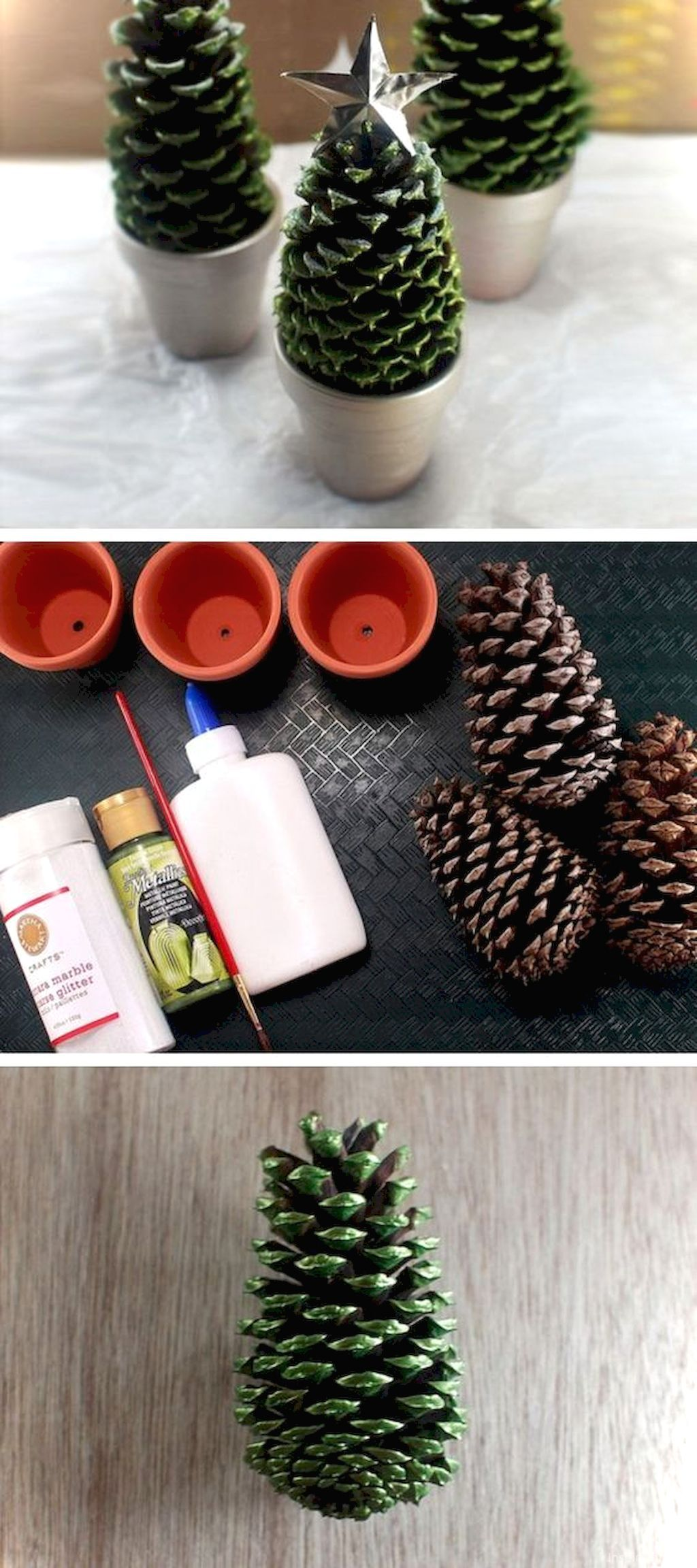 Pine Cone Christmas Crafts Ideas Part - 47: 50 Easy DIY Christmas Decorations Ideas On A Budget. Best ChristmasPine Cone  ...