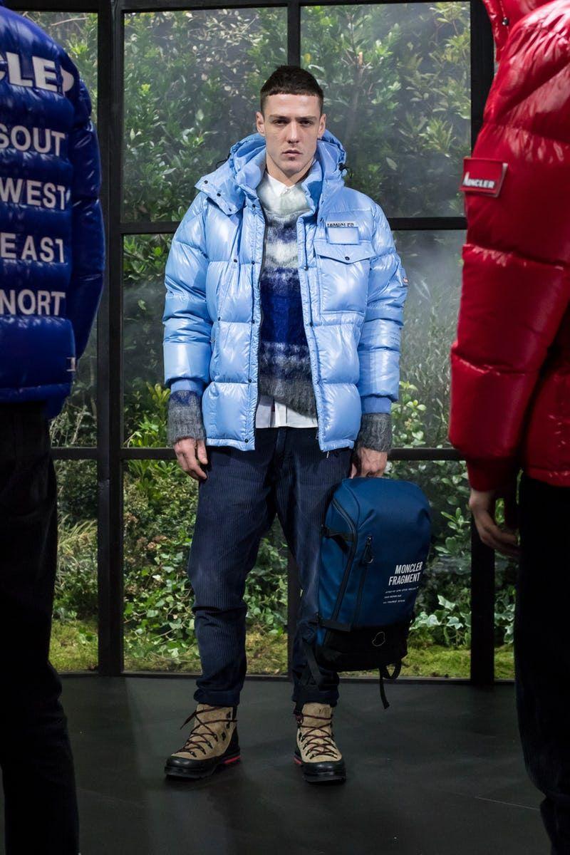Herrenmode von Moncler in Blau