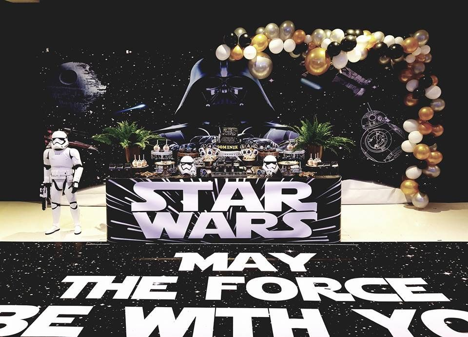 Disney Star Wars Paper Cut Garland Kit Boys Birthday Party Banner Decoration