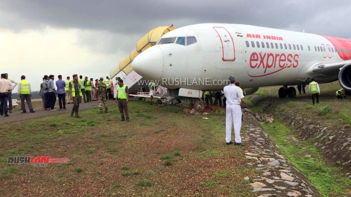 Air India, Boeing 737800 Went Off The Runway On Landing