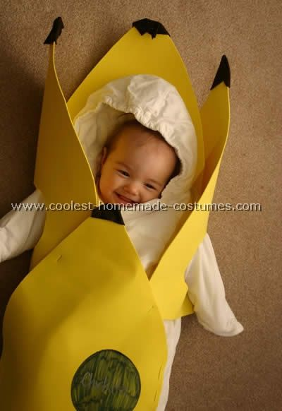 baby banana costumes this website is the pinterest of costumes - Banana Costume Halloween