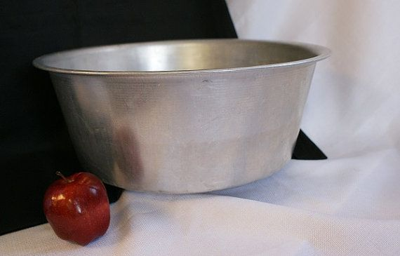 Large Aluminum Bowl Metal Tub Dough Basin Mixing Bowl | Metal tub ...