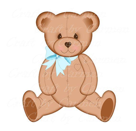 Teddy Bear Clip Art Cute Bear Baby Bears Digital Art Etsy Clip Art Art Baby Bear