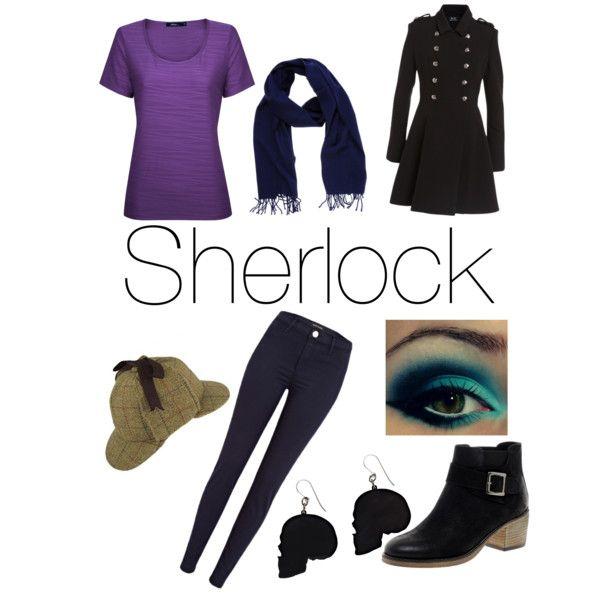 """Sherlock-BBC"" by katt-kimiko-coal on Polyvore"
