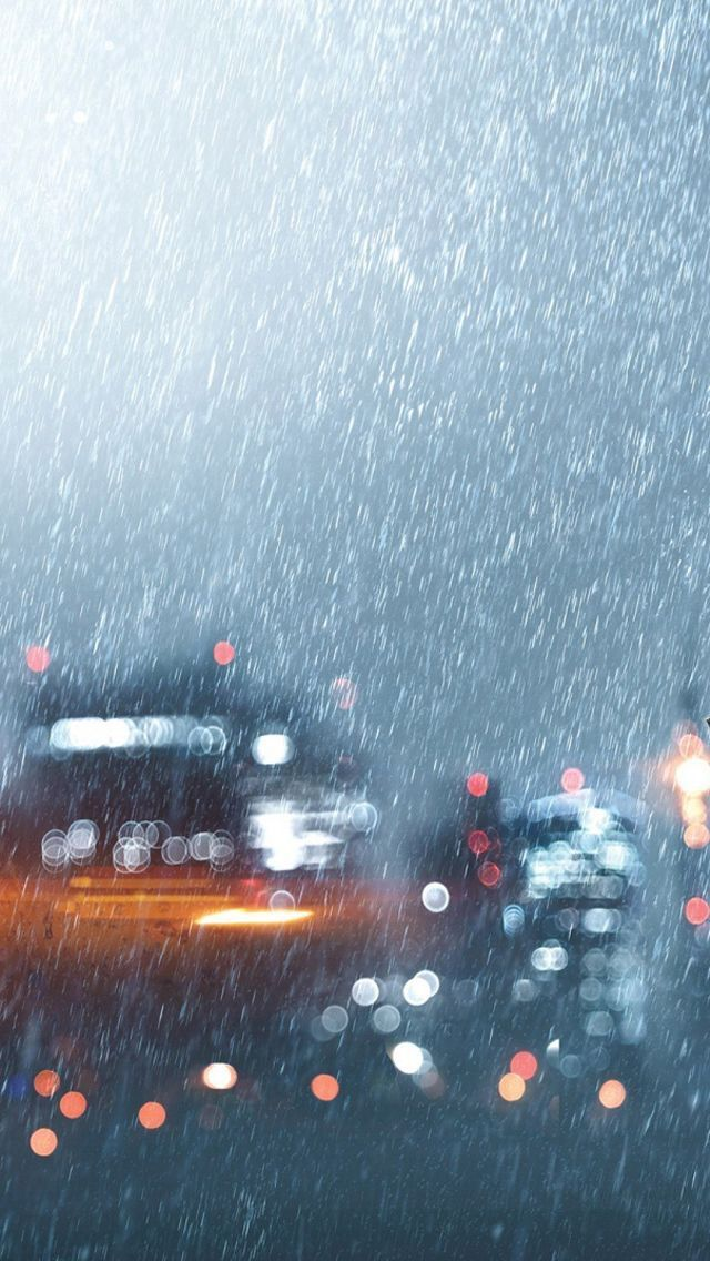 Rain iPhone wallpaper