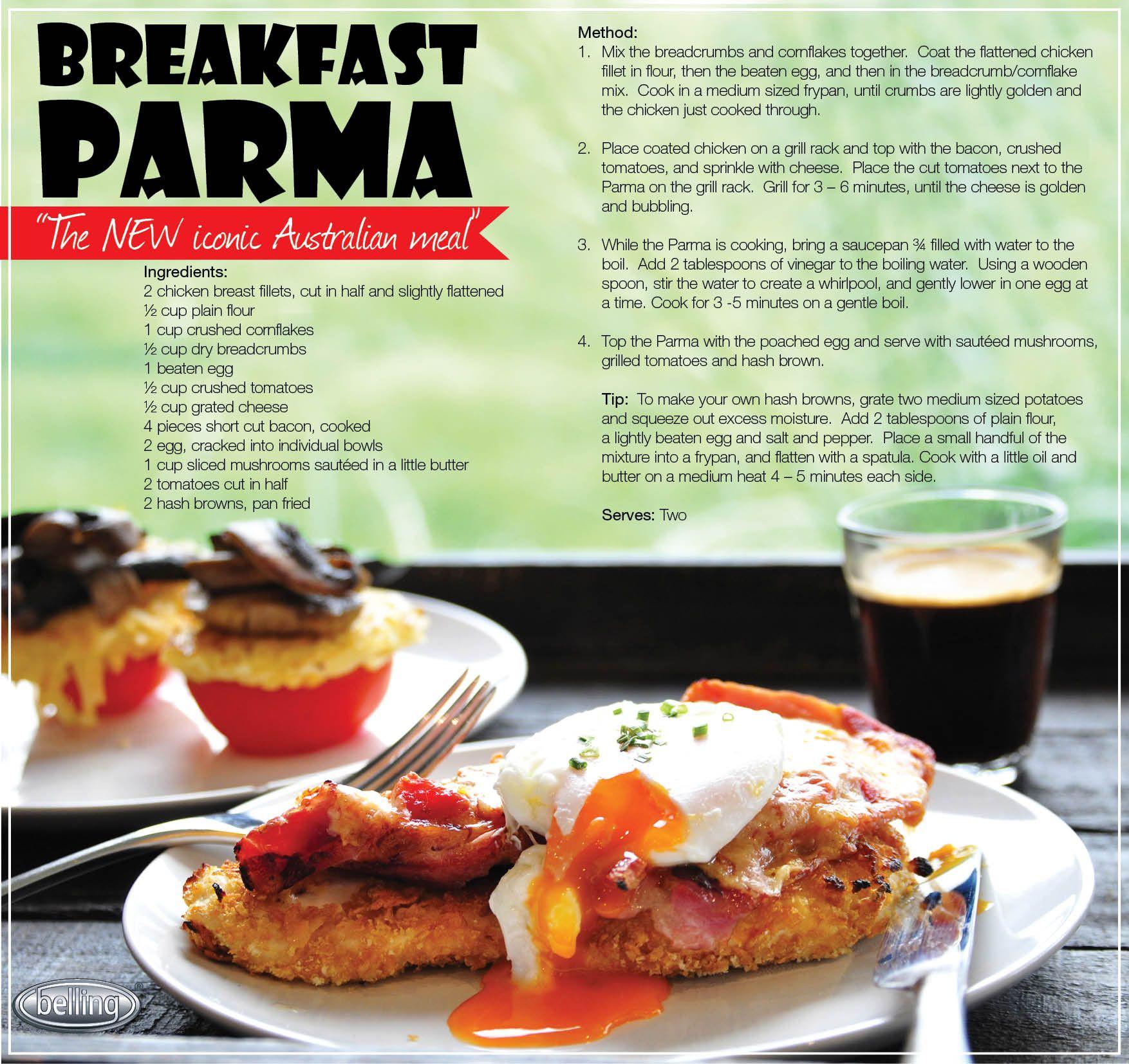 The Belling Breakfast Parma