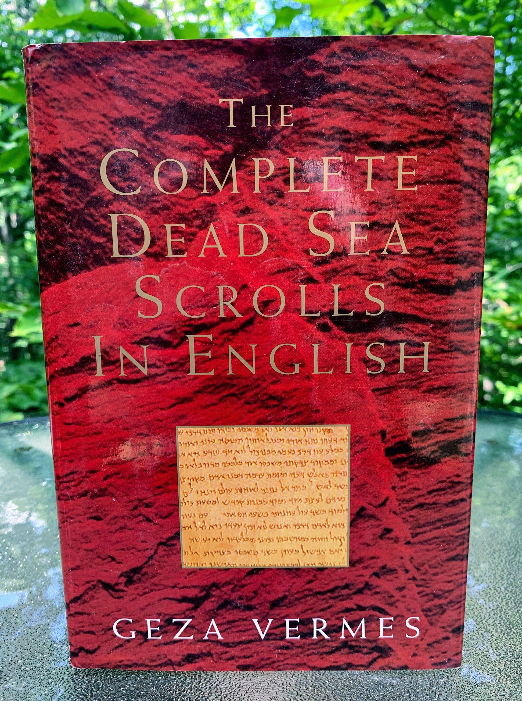 The Complete Dead Sea Scrolls In English Book Etsy In 2020 Dead Sea Scrolls Dead Sea English Book