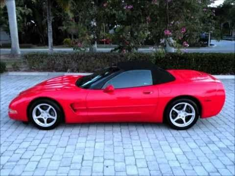 Auto Haus of Fort Myers is offering this 1 Owner, Recently Inspected & Serviced, 2000 Chevrolet Corvette Convertible with 65k Miles. It comes nicely equipped with a Torch Red Exterior, Black Leather Interior, 5.7L V-8 350HP, Automatic Transmission, Bose Premium Audio with CD Changer, Heads-Up Display, Power Sport Seats with Driver Memory, On-Boa...