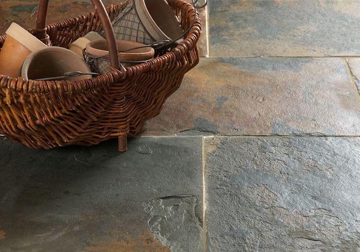 Rustic Multicolour Slate | Floors Of Stone | Stone Tiles | The Good ...