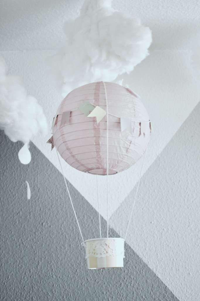 diy deko idee hei luftballons f r das kinderzimmer selber machen kinderzimmer kinderzimmer. Black Bedroom Furniture Sets. Home Design Ideas