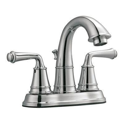Design House Eden Double Handle Centerset Bathroom Faucet I Finish: Polished Chrome
