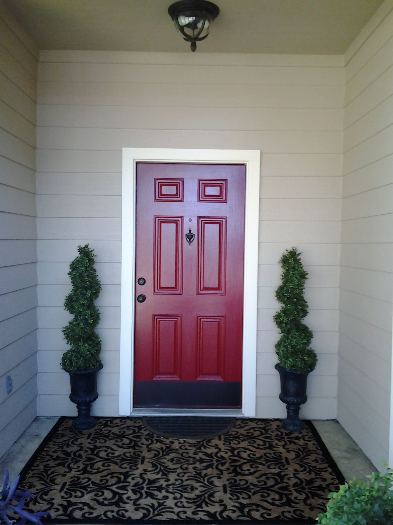 Beautiful Doors For Homes Beautiful Red Front Door Ideas For House Pinterest