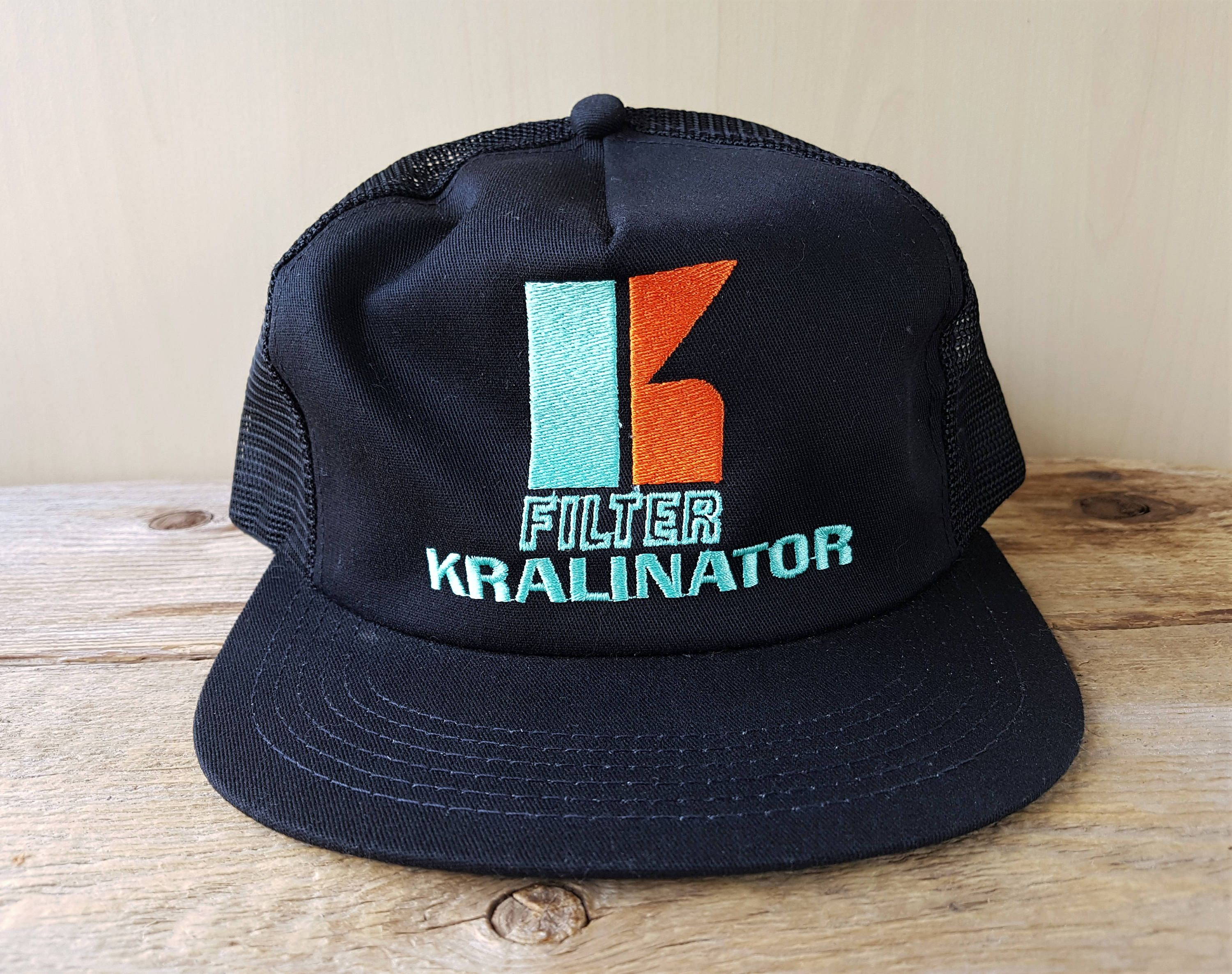 KRALINATOR FILTER *Reserved* Original Vtg 80s Black Mesh