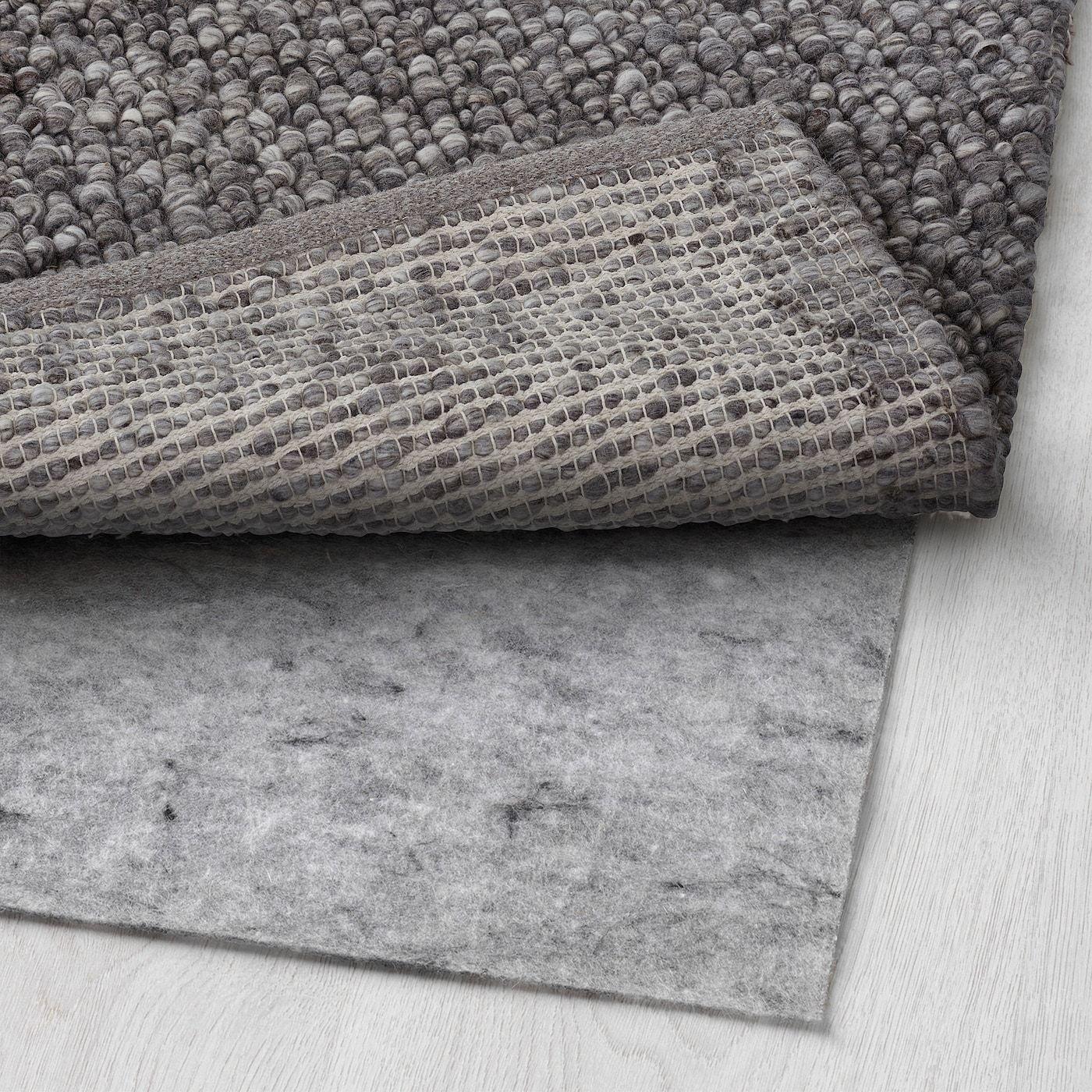 KOLLUND Rug, flatwoven handmade gray IKEA in 2020
