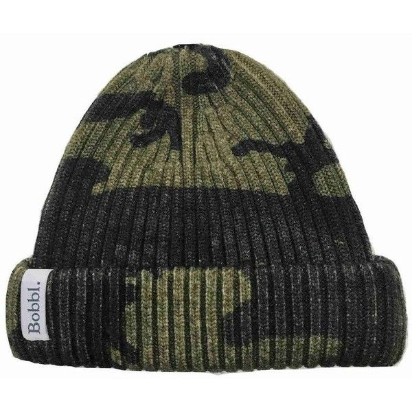 5d557db2cf0 BOBBL Printed Classic Hat - Green Camo ( 94) ❤ liked on Polyvore featuring  accessories