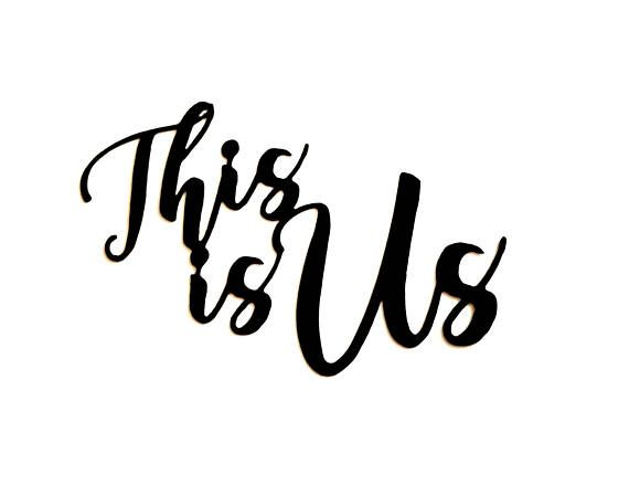 This Is Us Sign Metal Wall Quote Family Modern