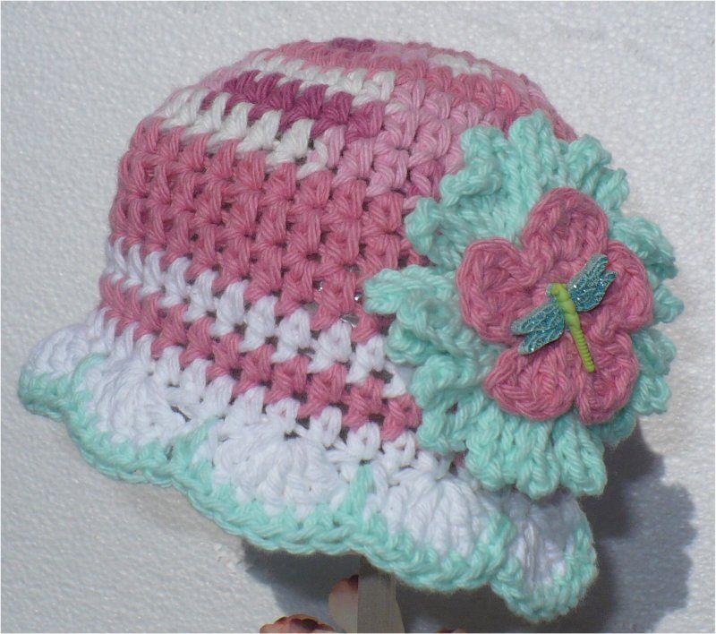 Crochet Baby Beanie Hats Children Kids Crochet Items The Edgeof17 ...