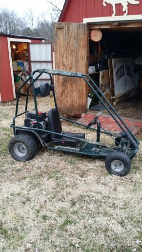 our new murray explorer go kart  we plan on giving it a little bit of a new  look