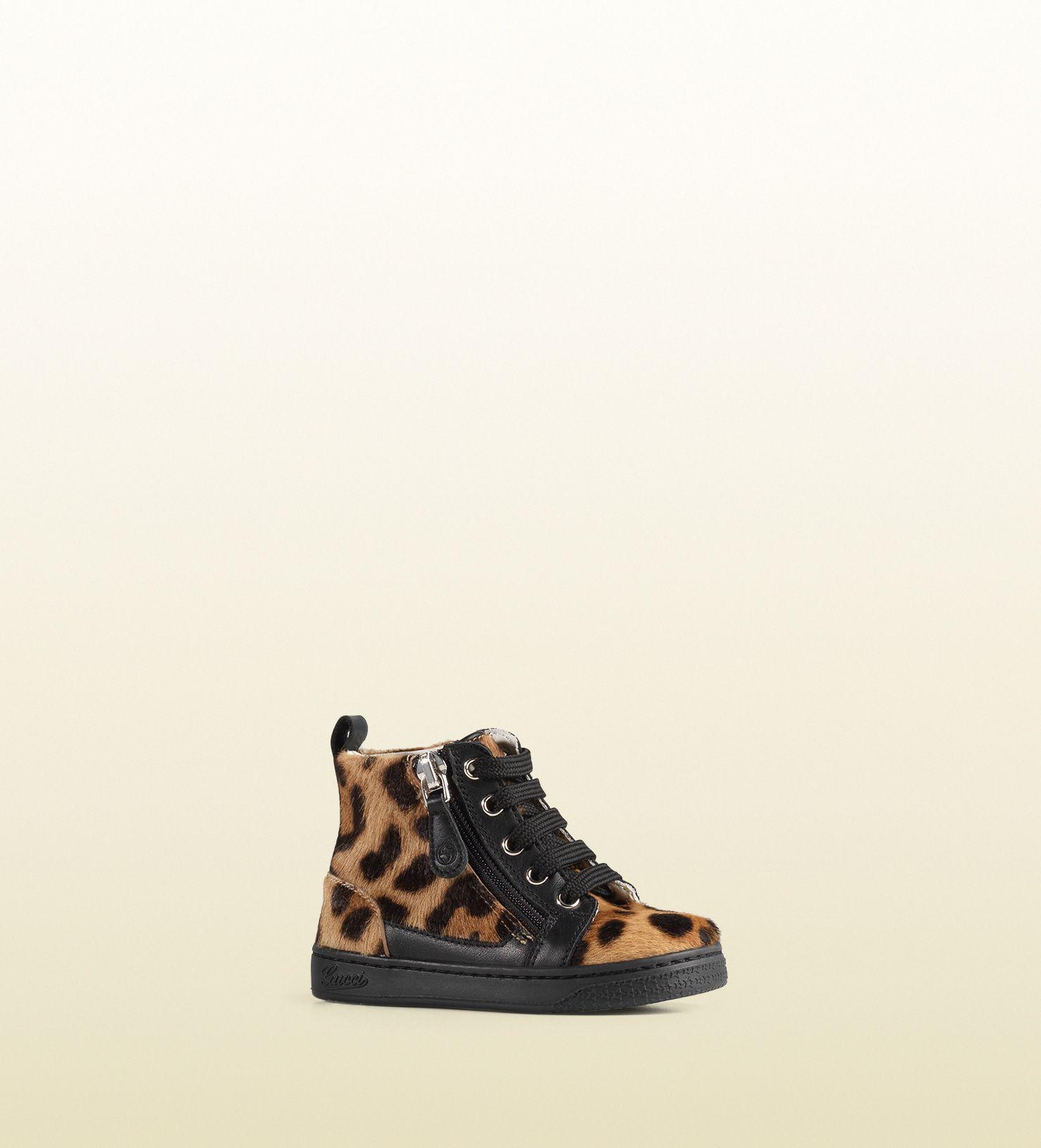 8b9adedee5e Gucci - toddler jaguar print high-top sneaker