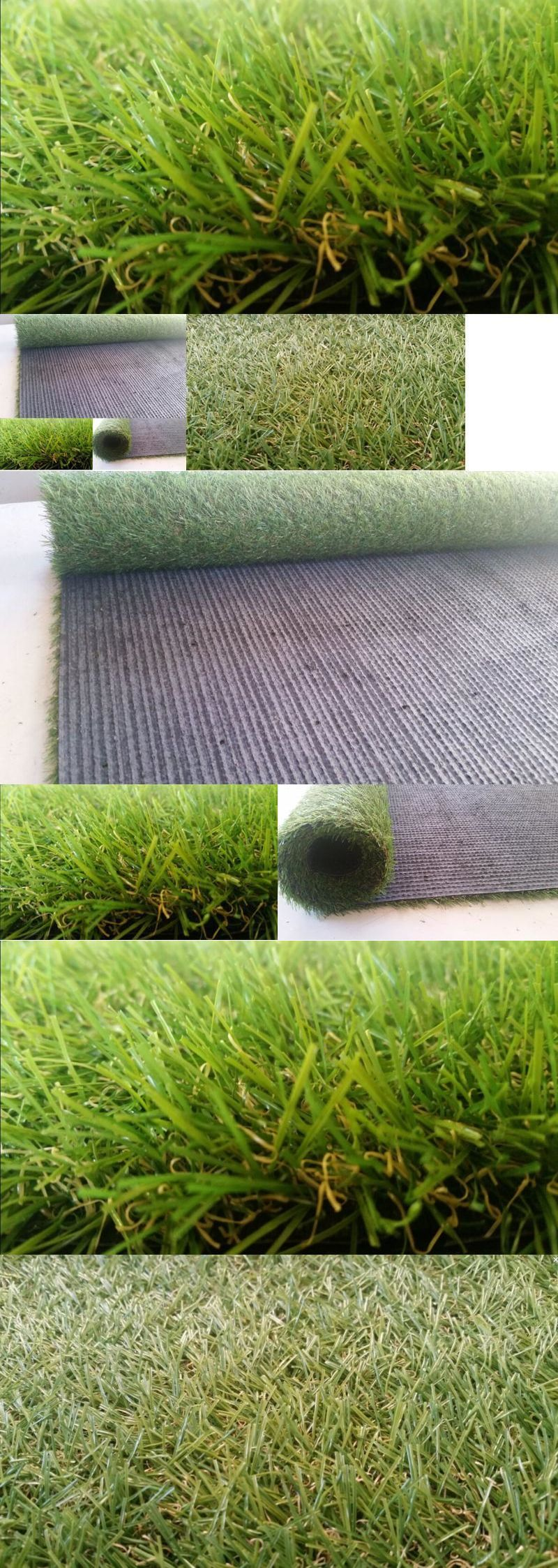 Synthetic grass new garden synthetic grass rubber backed