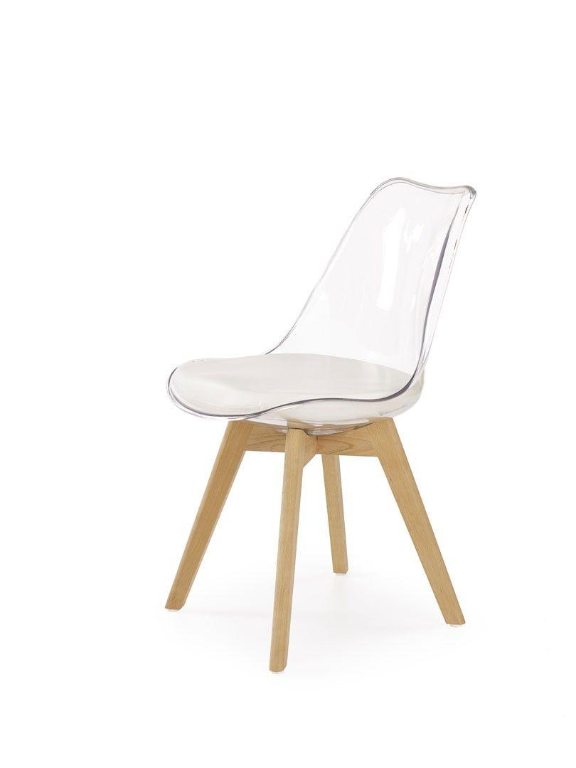 chaise de salle a manger design en pvc