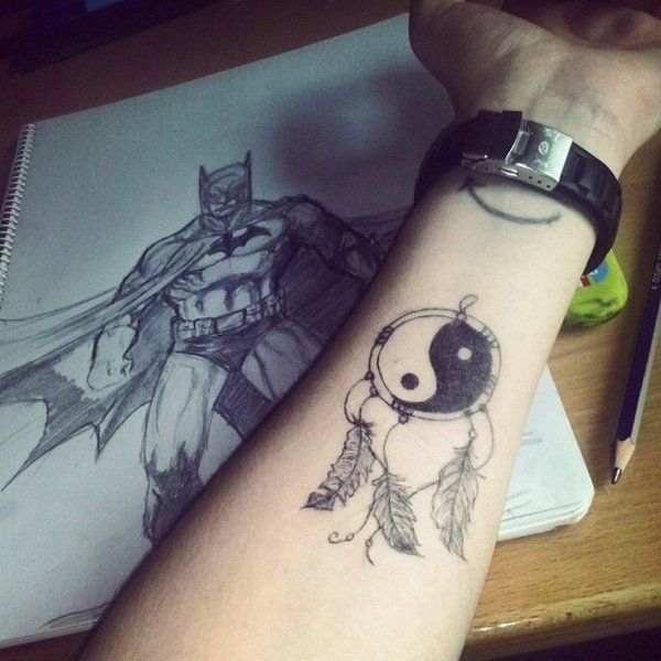 50 Mysterious Yin Yang Tattoo Designs Tattoos For Guys Yin Yang