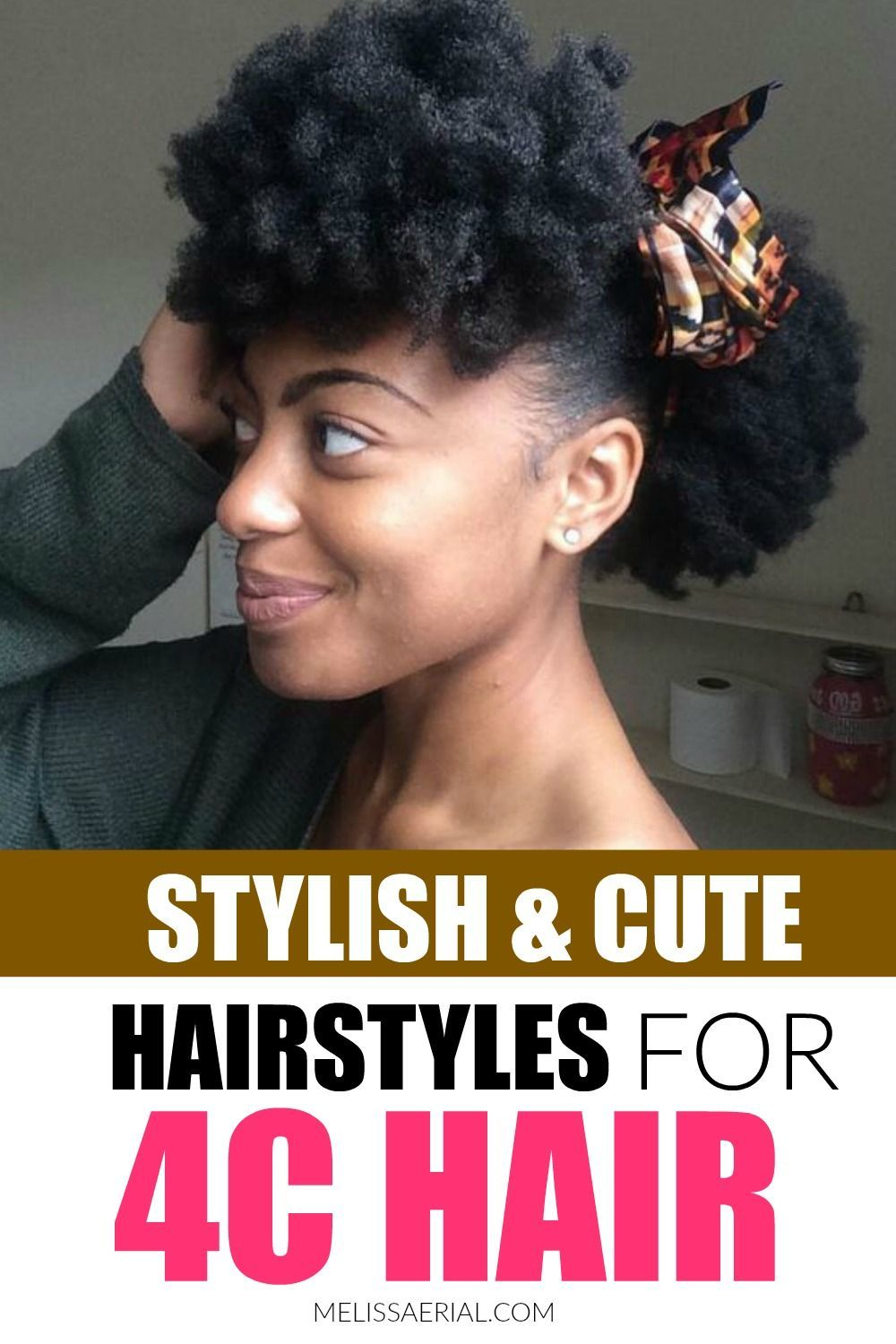 The Most Inspiring Short Natural 4C Hairstyles For Black ...