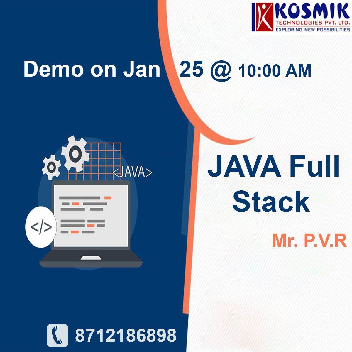 Java Full Stack Training In Hyderabad In 2020 Full Stack Developer Full Stack Introduction To Programming