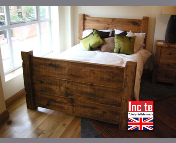 Wooden Beds by Incite Interiors, plank wooden beds, Handmade ...