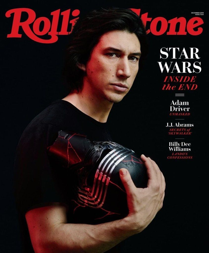 ROLLING STONE MAGAZINE DECEMBER 2019 STAR WARS