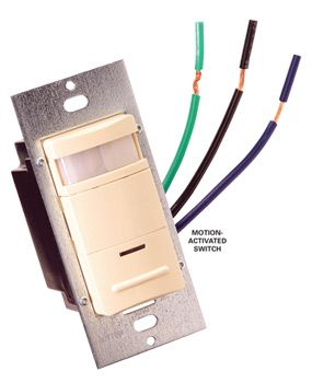 How To Find The Correct Motion Activated Switch For Fluorescent Lights Fluorescent Light Motion Activated Light Fluorescent Light Fixture