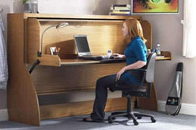 Convertible Work Desks : Study Bed