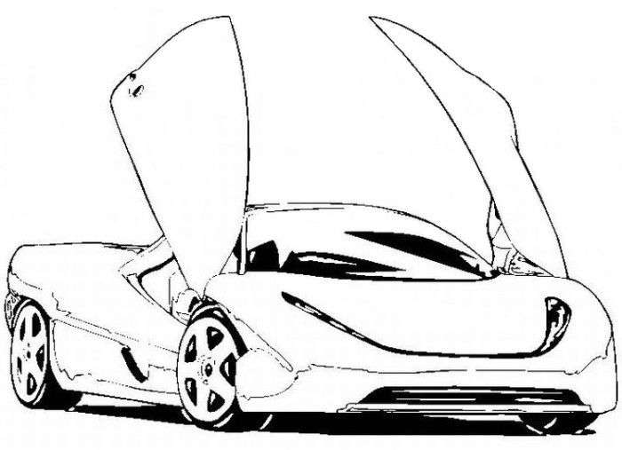 beautiful bmw coloring page  printables