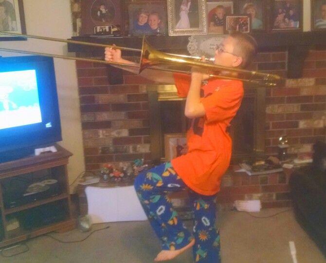 The trombone man 2014