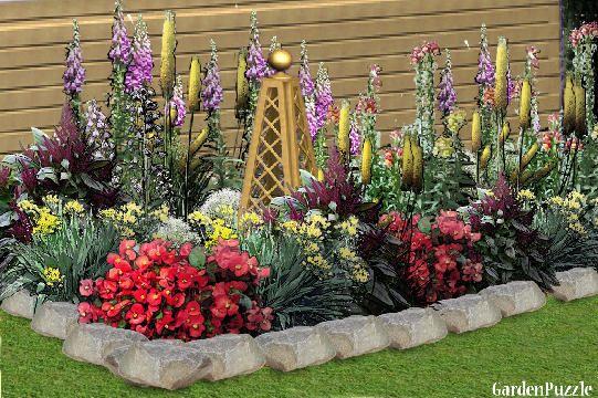 FLOWER BEDGardenPuzzleonline garden planning toolGarden