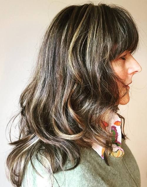 50 Modern Haircuts For Women Over 50 With Extra Zing Hair Ideas