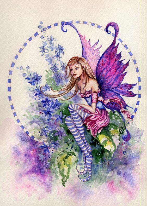 Delphinium Flower Fairy - Google Search
