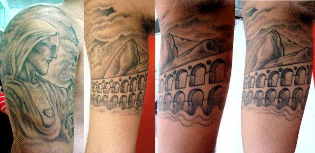 Tattoo Cristo Redentor E Arcoas Da Lapa Tattoo Foto Fotos De