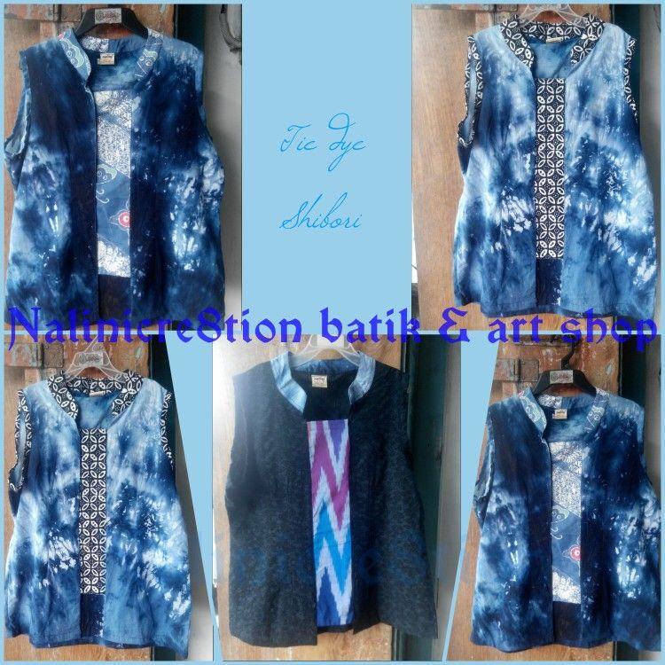 Shibori mix batik or tenun nalincre8tion  jumputan tiedye
