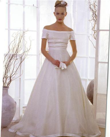 1980s wedding dresses Vintage off the shoulders wedding dresses San ...
