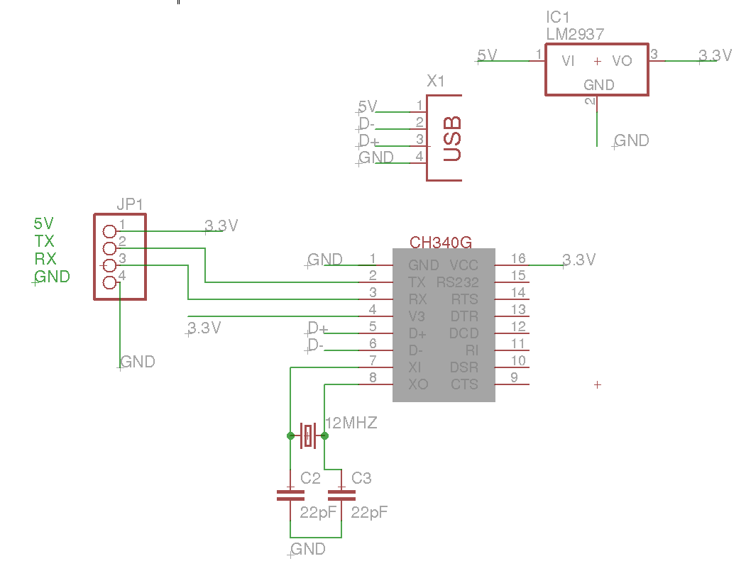 Ch340g Esquema Usb Tll Eletronica Pinterest Electronics Lm339 This Circuit Is A Basic Two Contact Touch Switch Sensor