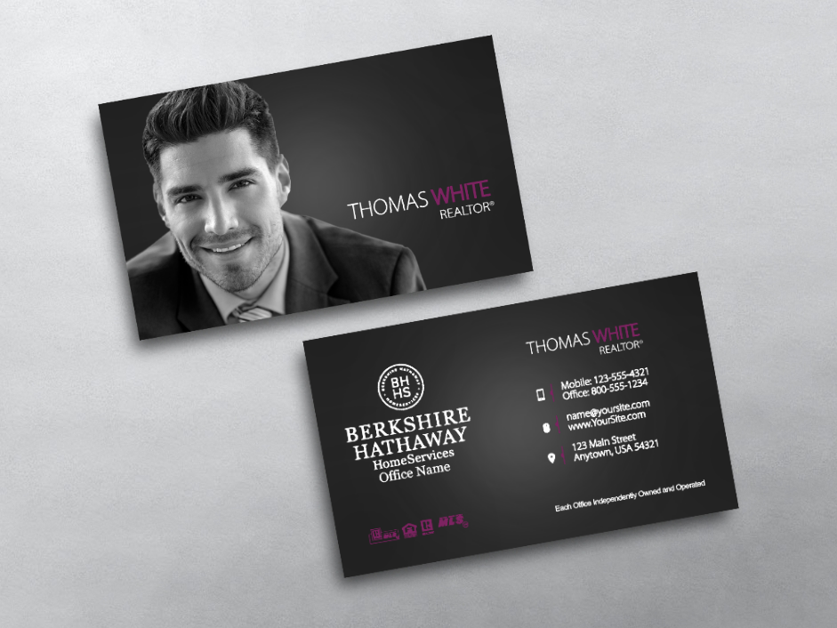 Order Berkshire Hathaway Business Cards Free Shipping