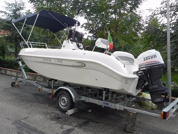Barca Open Line 550 #Bellingardo #vendesi per #inutilizzo, banca CE 7 #posti,  con #motore Selva 1000 xs EFI con trim #elettrico ... #annunci #nautica #barche #ilnavigatore