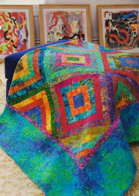 Nothing says home like a handmade quilt.