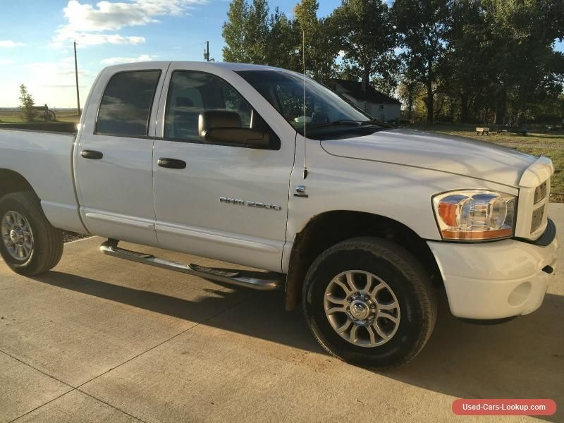 2006 Dodge Ram 2500 #dodge #ram2500 #forsale #canada | Cars for Sale ...