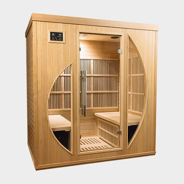 poolsana infrarotkabine rowen 175 x 120 x 190 cm die infrarot w rmekabine rowen ist ein luxus. Black Bedroom Furniture Sets. Home Design Ideas
