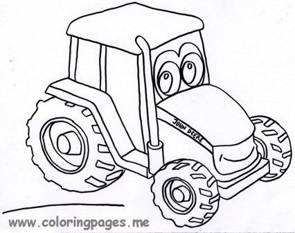 John Deere Coloring Pages | grandchildren | Pinterest | Birthdays ...
