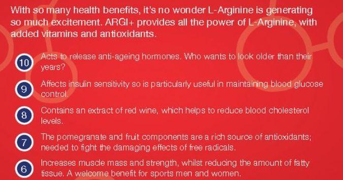 L arginine good sex