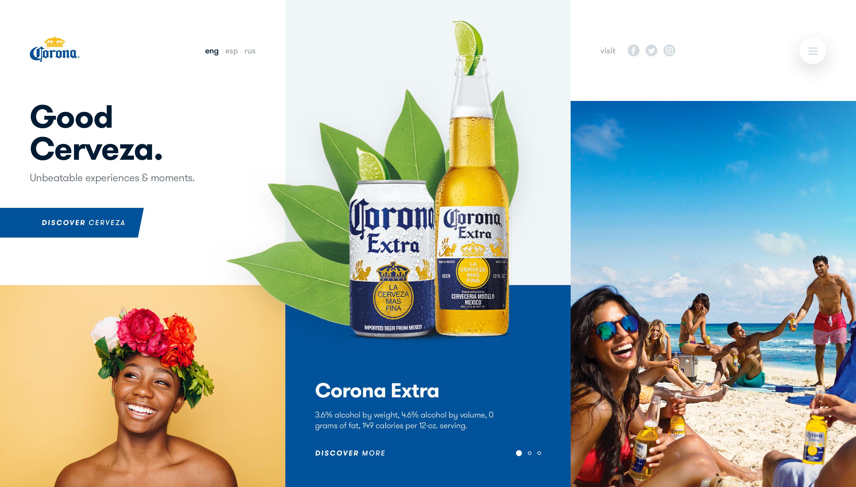 C Corona Modern Web Design Web Design Web Design Inspiration