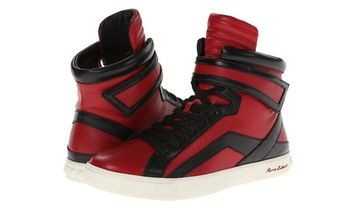 Pierre Balmain Black And Red High Top Athletic Shoes. Get the must-have athletic shoes of this season! These Pierre Balmain Black And Red High Top Athletic Shoes are a top 10 member favorite on Tradesy. Save on yours before they're sold out!